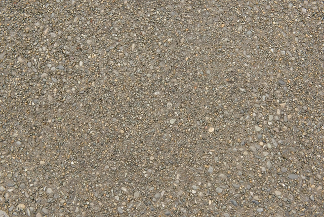 Exposed Aggregate with 5kg Black Oxide